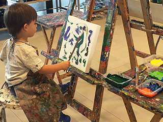 Nobody is too young for art!