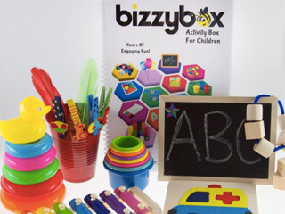 Bizzybox: Up to 30 toddler activities in one box!